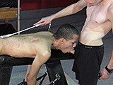 From badboybondage - Chained-Twink-Oral