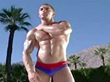 From SwimmerBoyz - Muscled-Speedo-Beefcake