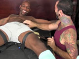 Black-Navy-Seal-Leo-Tickle-Tortured - Gay Porn - tickledhard