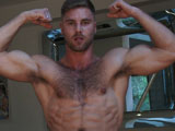 Tom-Shows-Us-His-Hairy-Body-And-Big-Uncut-Cock - Gay Porn - englishlads