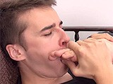 Foot Loving Dude Stiff Cock