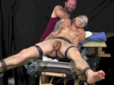 Evan In The X Tickle Tortured and Jerked Off