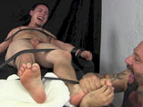 Jacob's Tickle Torture and Gay Blowjob