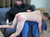 Trevor Over The Knee - Spanking Straight Boys