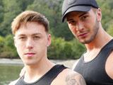Justin-And-Brad-Take-Turns-Fucking - Gay Porn - brokestraightboys