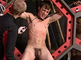 From badboybondage - Twink-Flogged-On-All-Fours