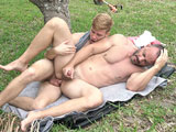 Giving-It-To-My-Old-Man-Ch-1-Yard-Work - Gay Porn - familydick
