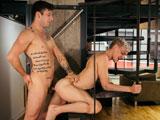 Liam-Emerson-Rails-Newcomer-Luca-Beckham - Gay Porn - cockyboys