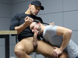 A-Gay-mantic-Interrogation - Gay Porn - behindfriends