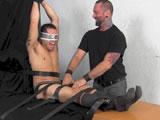 Bert Bound In Tickle .. - Tickled Hard