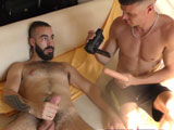 6 Lads Wanking In - Hung Young Brit
