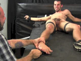 Chris Tickle And Cum - Tickled Hard