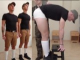 Two Spanked Cadets! Part Two
