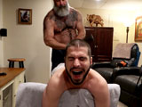 Trained To Gape - Muscle Bear Porn