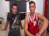 Gay Porn from brokestraightboys - Tanner-Valentino-And-Gage-Owens