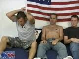 Gay Porn from AllAmericanHeroes - Officer-Christian-Staff-Sergeant-John-Private-Eric
