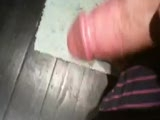 cum smacking on the floor