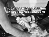 Gay Porn from VintageBareback - Brutal-Leather-Daddies