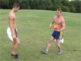 Gay Porn from WankOffWorld - Public-Aussie-Footy-Practice