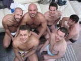 From WankOffWorld - 6way-3-Couples-Together