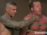 Gay Porn from boundgods - Bound-Gods-Visit-Steamworks