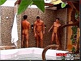 Gay Porn from mountequinox - Jacuzzi-Three-way-Pt-1