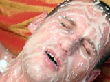 Gay Porn from ManButtered - Nasty-Gay-Huge-Cumshot