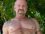 Gay Porn from daddyaction - Tattooed-Muscular-Solo-Daddy