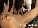 Gay Porn from YoungHotLatinos - Thin-Latinos-Suck-Cock