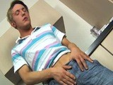 Cameron Strokes His Cock
