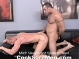 Gay Porn from CocksureMen - Mitch-Vaughn-And-Spencer-Reed