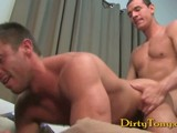 Gay Porn from dirtytony - Dominics-First-Gay-Fuck