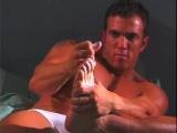 Gay Porn from RocketBooster - Young-Barefoot-Workout-Scene-2