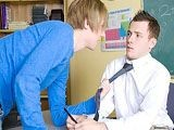 Gay Porn from GayLifeNetwork - School-Sex-Lesson