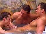 Wild Threesome Sex - Strong Men