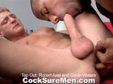 Gay Porn from CocksureMen - Robert-And-Gavin