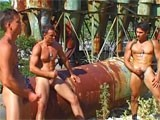 Gay Porn from StrongMen - Muscle-Hunks-Masturbation