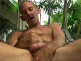 Gay Porn from DaddyStrokes - Pat-Jerks-Off-On-The-Porch
