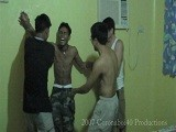 Gay Porn from LaughingAsians - Four-Way-Tickle-Fight
