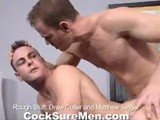Gay Porn from CocksureMen - Drew-And-Matt