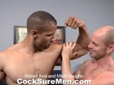 Gay Porn from CocksureMen - Robert-And-Mitch