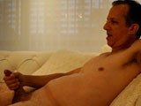 Gay Porn from daddyaction - Straight-Daddy-Jerks-Off