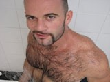Gay Porn from WankOffWorld - Hairy-And-Hunky-Amateur