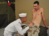 Gay Porn from dirtytony - Str8-Military-Bj-In-Uniform