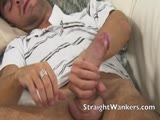 Gay Porn from straightwankers - Wanking-My-Huge-Cock-For-You