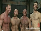 Gay Porn from boundgods - Tommy-Nick-Drake-And-Derek-Pain