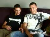 Gay Porn from BuzzWest - Bradley-Gavin-Shye-Fuck