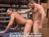 Gay Porn from CocksureMen - Shay-And-Kyle