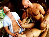 Gay Porn from hairyboyz - Rj-Danvers-Dan-Rhodes-Scott-Tanner