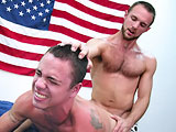 Gay Porn from AllAmericanHeroes - Firefighter-Mikey-Navy-Yeoman-Brad